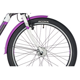 s'cool chiX 24 7-S - Vélo enfant - alloy violet/noir